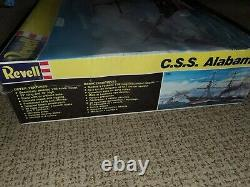 Revell CSS ALABAMA 196 Scale Unassembled Model Kit factory sealed wrap
