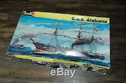 Revell CSS ALABAMA No. 5621 196 Scale Unassembled Model Kit Damaged Box