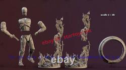 RoboCop 18 Unpainted 27cm H Model Kit Unassembled 3D Printing Garage Kit GK New