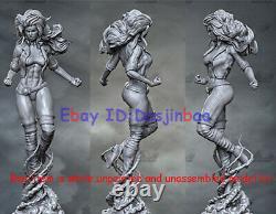 Rogue Unpainted 1/6 Anna Figure 3D Printing Model Kit Unassembled H38cm GK