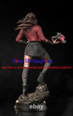 Scarlet Witch 1/6 Figure 3D Printing Model Kit Unpainted Unassembled 35cm GK