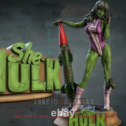 She-Hulk Unpainted 1/4 Figure 3D Print Model Kit Unassembled GK H52cm/20.4inch