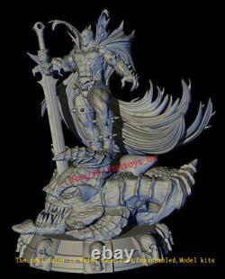 Spawn Unpainted 32cm Model Kit 3D Print Unassembled GK Garage Kit Statue Model