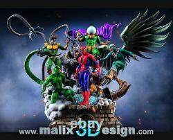 Spider-Man Sinister Six 3D PRINTED Unpainted/Unassembled Garage Kit 16in/40cm