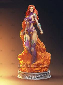 Starfire Beauty Princess 1/6 Figure 3D Printing Model Kit Unpainted Unassembled