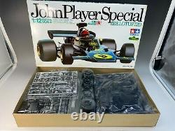 TAMIYA 1/12 Kit John Player Special J. P. S. LOTUS 72D BIG scale No. 13 Unassembled