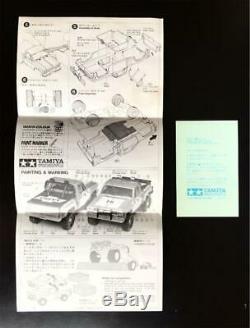 TAMIYA 1/12 Mini 4WD Series NO. 2 Chevrolet Pickup Truck 1982 Unassembled