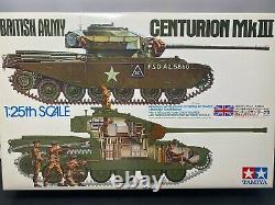 TAMIYA 1/25 Kit Centurion MK British Army Unassembled