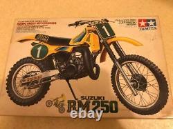 Tamiya 1/12 Motorcycle Series No. 13 Suzuki RM250 Motocrosser Kojika Unassembled