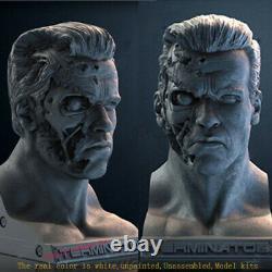 Terminator Unpainted 25cm Model Kit Unassembled 3D Printing Model Garage Kit GK