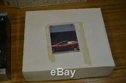 Testors Pocher 1/8 18 Ferrari Testarossa 191 Red UNASSEMBLED OPEN BOX Complete