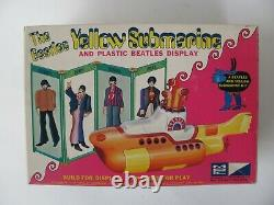 The Beatles Original 1968 Yellow Submarine Unassembled Model Kit In Box