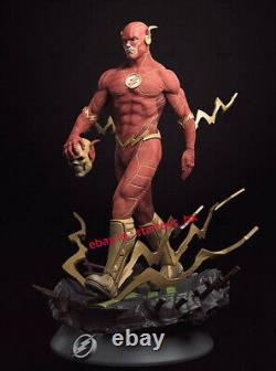 The Flash 35cmH 16 Unpainted Model Kit Unassembled 3D Print Garage Kit Statue