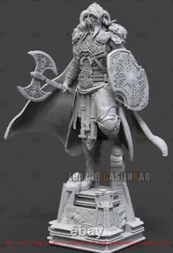 Thor Odinson Unpainted 1/6 Resin Figure 3D Print Model Kit Unassembled GK H40cm