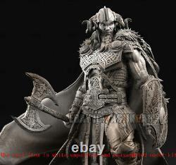 Thor Odinson Unpainted Resin Figure 3D Print Model Kit Unassembled GK H31.5cm