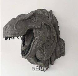 Tyrannosaurus Rex Dinosaur Head Figure Unpainted Unassembled Resin Kit 32cm Tall