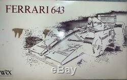 Unassembled ROSSO 1/8 Ferrari 643 Kit F1 WRX Vintage Track#