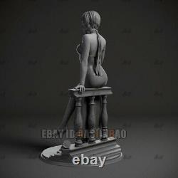 Unpainted 1/4 H44cm/17inch Ada Wong Beauty Girl 3D Print Model Unassembled