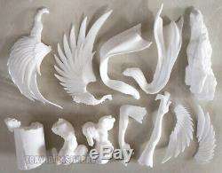 Unpainted 1/5 Absolute Whiteness Magical Girl Resin Figure Model Kit Unassembled
