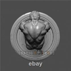 Unpainted 1/6 22cm H Arnold Resin Strong Man Figure 3D Print Model Unassembled