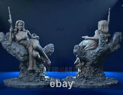 Unpainted 1/6 31cm/12inch H Mystique Beauty Girl 3D Print Model Unassembled