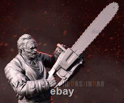Unpainted 1/6 38cm/15inch H Leatherface Resin Figure 3D Print Model Unassembled