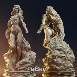 Unpainted 32.5cm H Starfire Beauty Girl Resin Figure Unassembled 3D Print Model