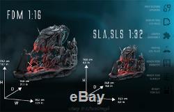 Unpainted Alien Queen Resin Kits Model Statue GK Unassembled 1/16 Scale 3D Print