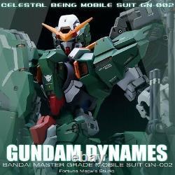 Unpainted &Unassembled Fortune Meows 1/100 GN 002 gundam Dynames Conversion kit
