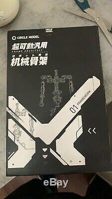 Unpainted and Unassembled GM Dream 1/100 Reborns Gundam Conversion Kit