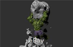 Unpainted and unassembled 55cm high hulk vs wolverine, 3d print, resin model kit