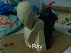 Unpainted and unassembled Spiderman bust, gk, resin model kit