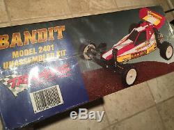 Vintage 1995 Traxxas Bandit Model 2401 Unassembled Kit New Sealed