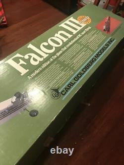 Vintage Falcon III Carl Goldberg Model Airplane Kit New Unassembled