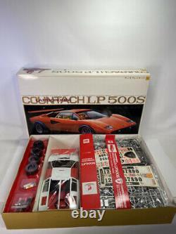Vintage OTAKI 1/12 Scale LAMBORGHINI COUNTACH LP500S Model Kit. Unassembled
