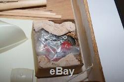 Vintage Sterling Wooden Model Kit B21M Schooner Emma C Berry Unassembled