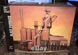 WALTHERS CORNERSTONE Blast Furnace Model Kit THE WORKS 933-3054 HO Unassembled