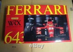 WRX 1/8 Rosso Ferrari 643 Unassembled Vintage Super rare NEW