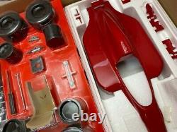 WRX 1/8 Rosso Ferrari 643 Unassembled Vintage White box version + Upgrade parts