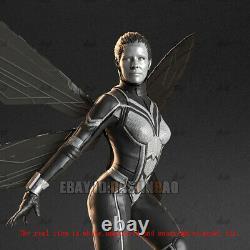 Wasp 1/6 Beauty Girl Figure 3D Print Model Unpainted Unassembled GK H44cm/17inch