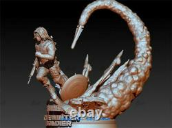 Winter Soldier Resin Model Kits Unpainted 3D Printing Figure Unassembled 30cm