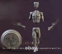 Wolverine 1/6 Standing 3D Print Model Kit Unpainted Unassembled GK 34cm/13.3inch