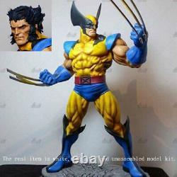 Wolverine 2 Head Figure 3D Print Model 1/4 Unpainted Unassembled GK H44cm/17inch