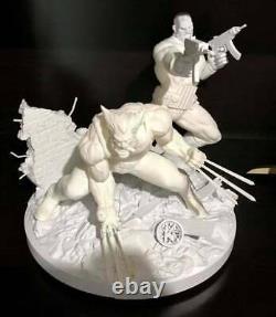Wolverine & Punisher 3D PRINTED Garage Kit Unpainted/Unassembled 12in/30cm