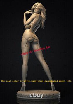 Woman Warrior W 2 Body 16 Unpainted Model Kit Unassembled 3D Printing 31cmH