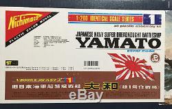 Yamato IJN Super Dreadnought Nichimoco 1/200 unassembled Battleship with extra